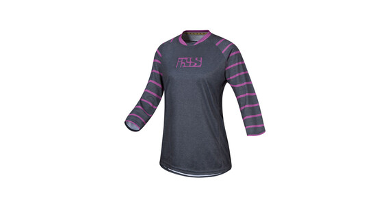 IXS Vibe 6.2 BC 3/4 Jersey Women graphite/purple
